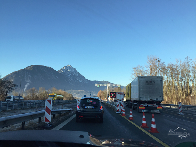Border crossing Alps road trip | My Wandering Voyage travel blog
