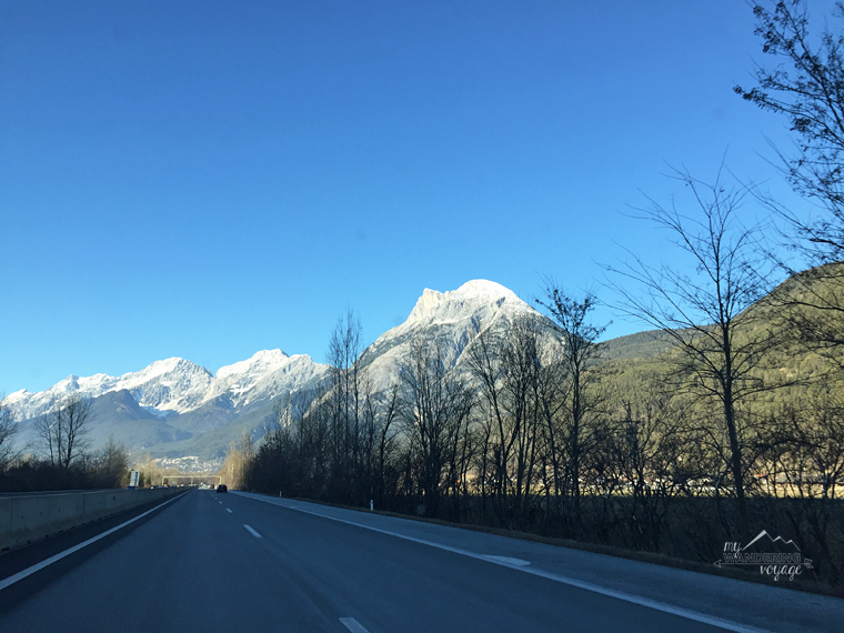 Sunshine for an Alps road trip