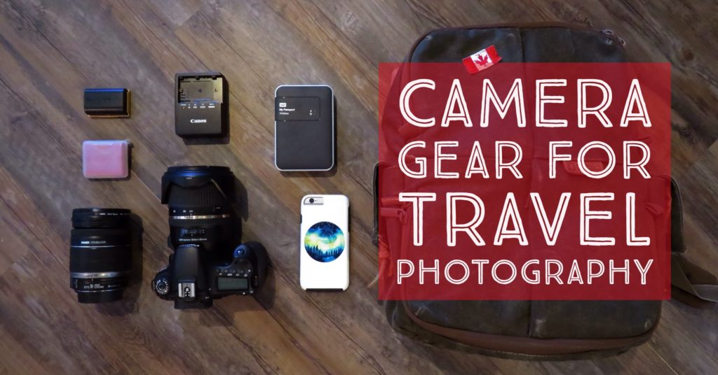 What's in my camera bag? Camera gear for travel photography