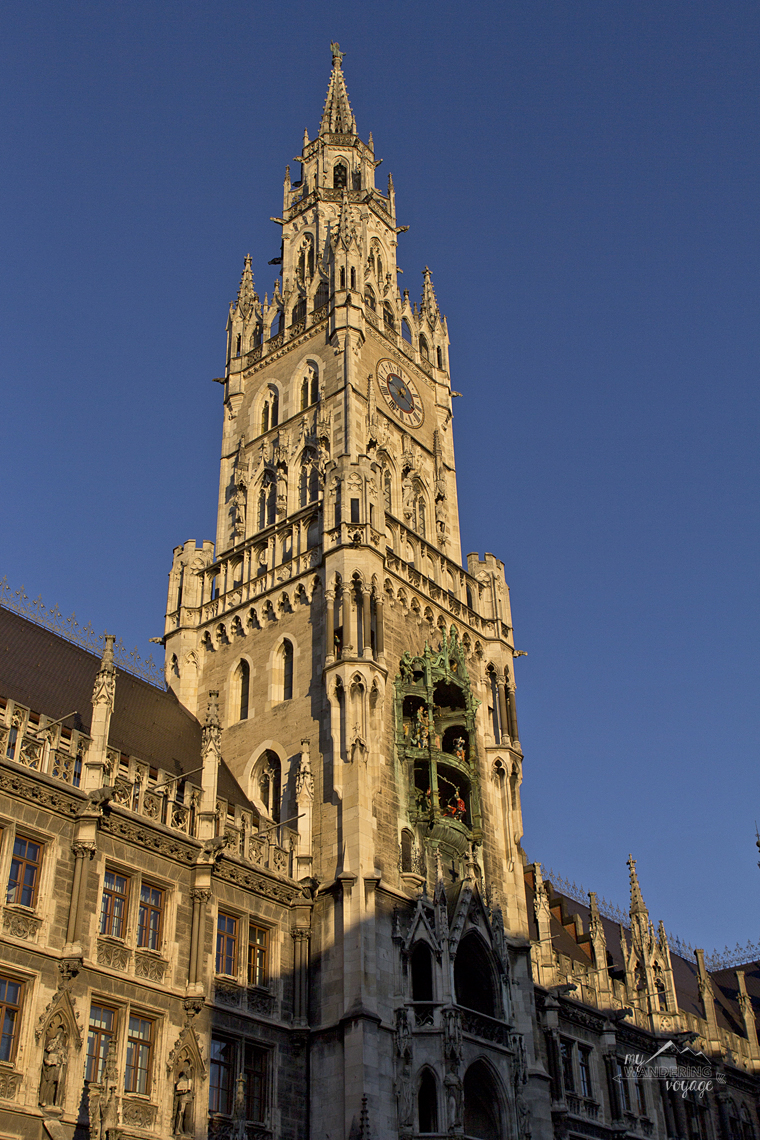 Neus Rathaus, Marienplatz, Munich, Germany - What to do in Munich Germany with limited time   My Wandering Voyage travel blog