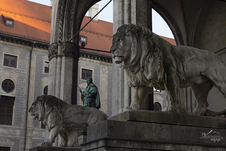 Feldherrnhalle, Odeonsplatz, Munich - What to do in Munich Germany with limited time   My Wandering Voyage travel blog