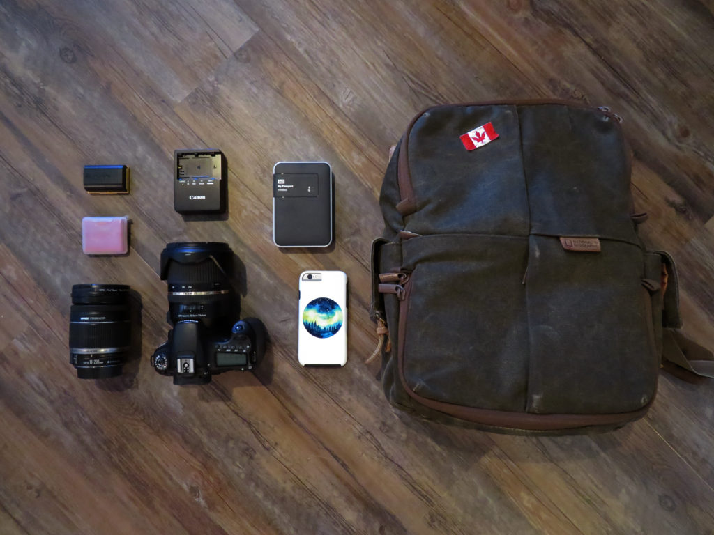 Travel Photography - What's in my camera bag? | My Wandering Voyage travel blog