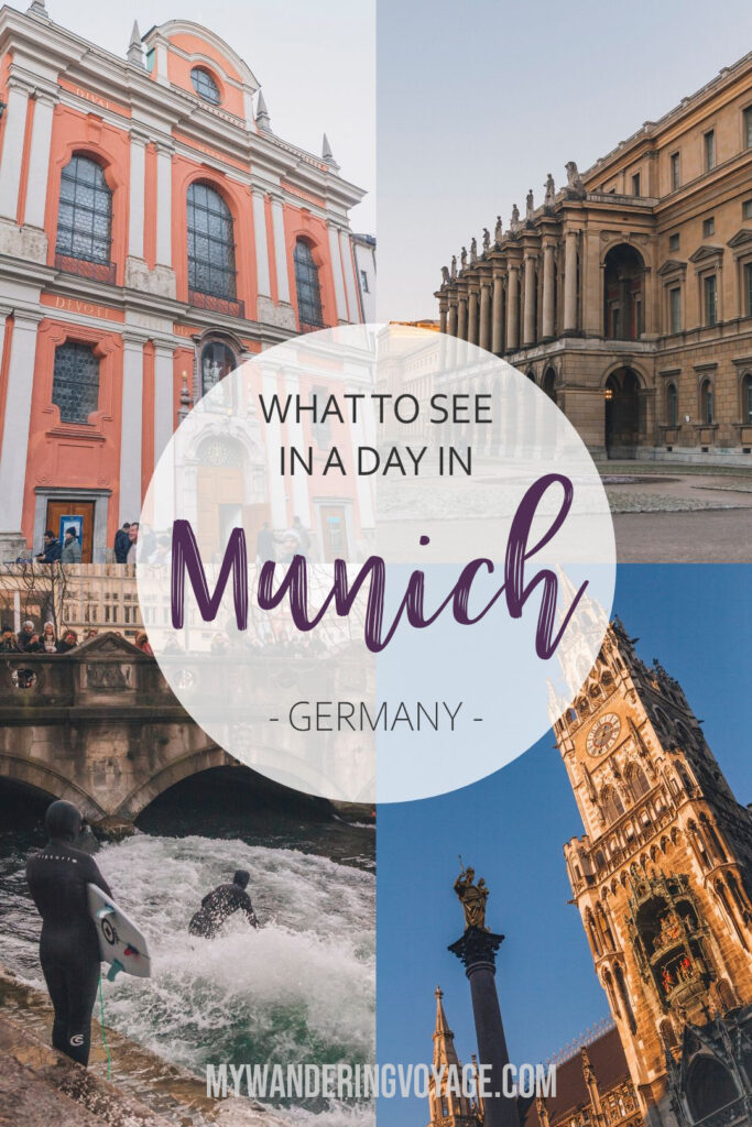 Dash through Munich, Germany – Here's what you need to see in this Bavarian city with limited time. Munich is more than Octoberfest, so what should you see in this European city?   My Wandering Voyage travel blog
