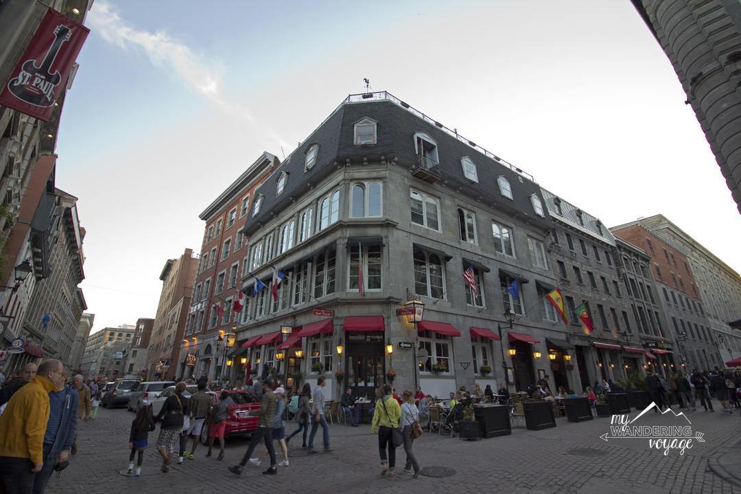 Walk the streets of Old Montreal - Three-day Montreal itinerary | My Wandering Voyage travel blog