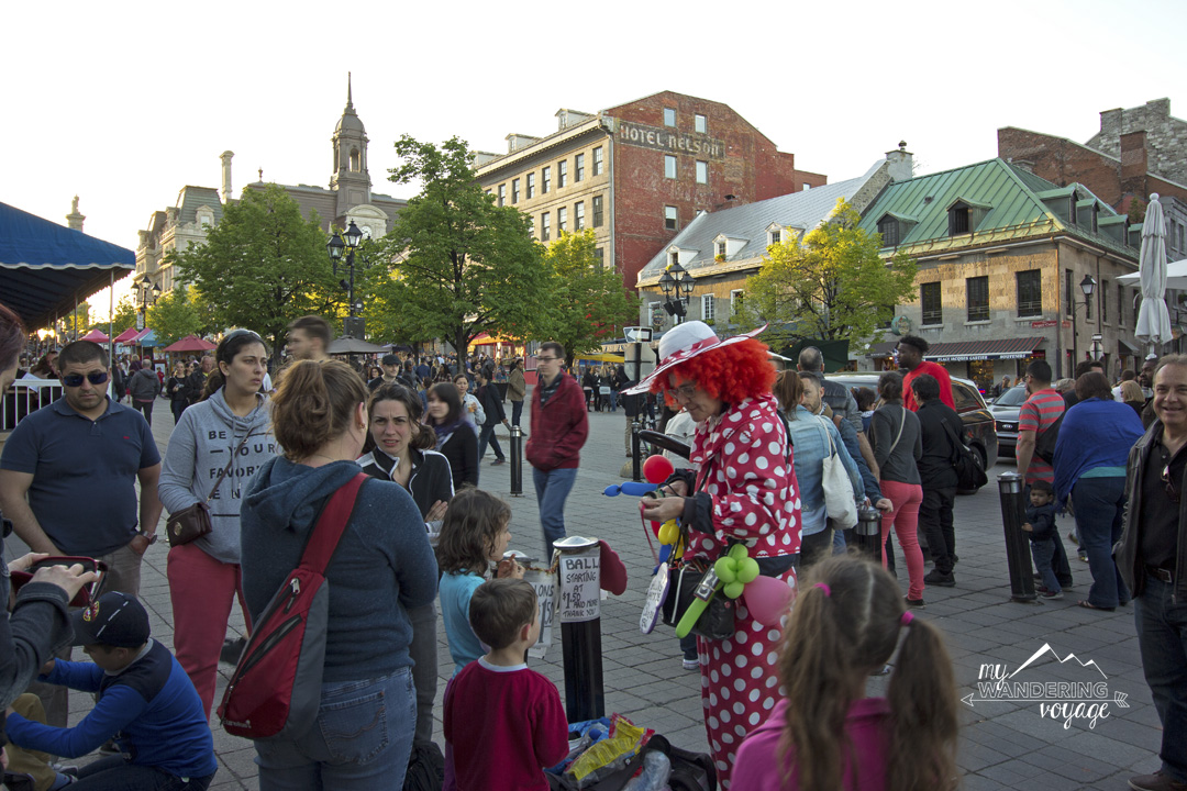 Place Jacques-Cartier in Montreal - 14 essential experiences for a weekend in Montreal, Quebec, Canada | My Wandering Voyage travel blog