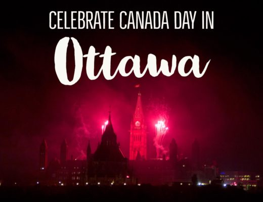 What's the best way to celebrate Canada Day? Don your red and white and join the part in Ottawa! | My Wandering Voyage Travel Blog