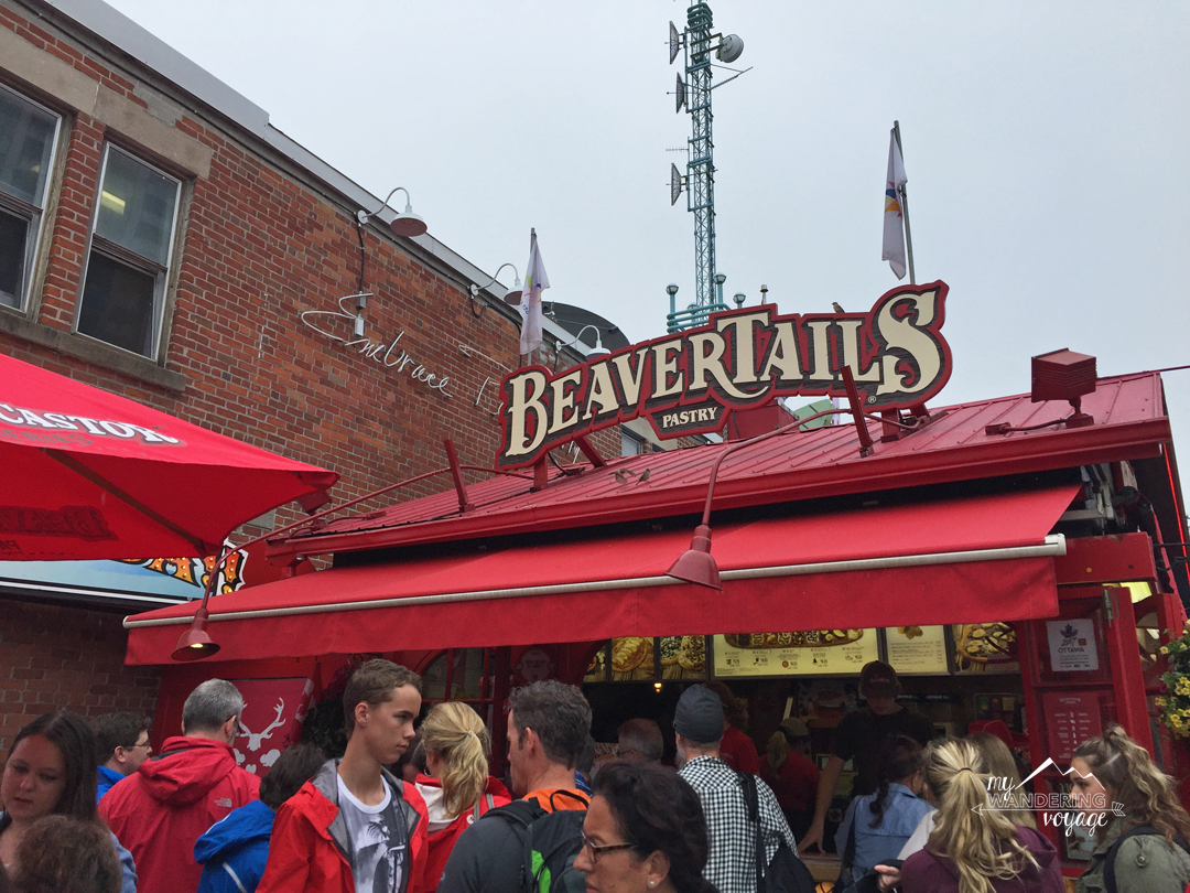 Stuff your face with a delicious beaver tail in Ottawa   My Wandering Voyage travel blog