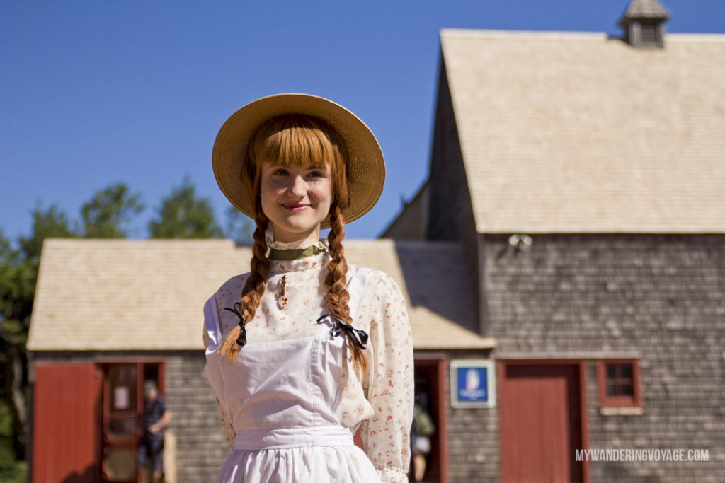 Anne of Green Gables - Prince Edward Island, one of the four Canadian Atlantic provinces, is full of stunning landscapes and island hospitality. Known for its red-sandy beaches and glorious seafood, PEI offers a little something for everyone. Nine places to explore in Prince Edward Island | My Wandering Voyage Travel Blog