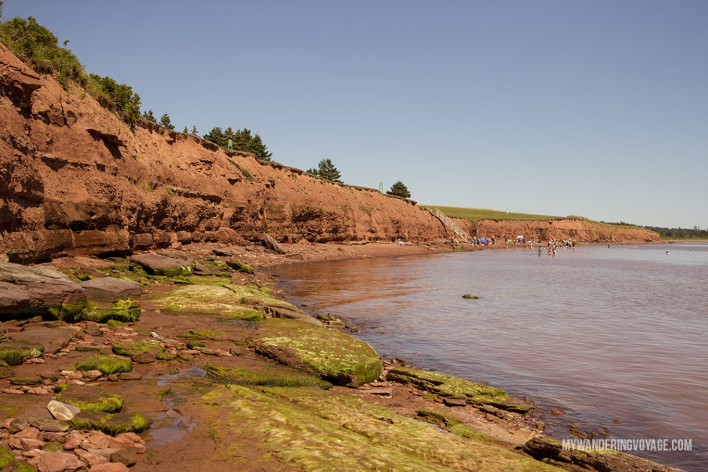 Argyle Shores Provincial Park - Prince Edward Island, one of the four Canadian Atlantic provinces, is full of stunning landscapes and island hospitality. Known for its red-sandy beaches and glorious seafood, PEI offers a little something for everyone. Nine places to explore in Prince Edward Island | My Wandering Voyage Travel Blog
