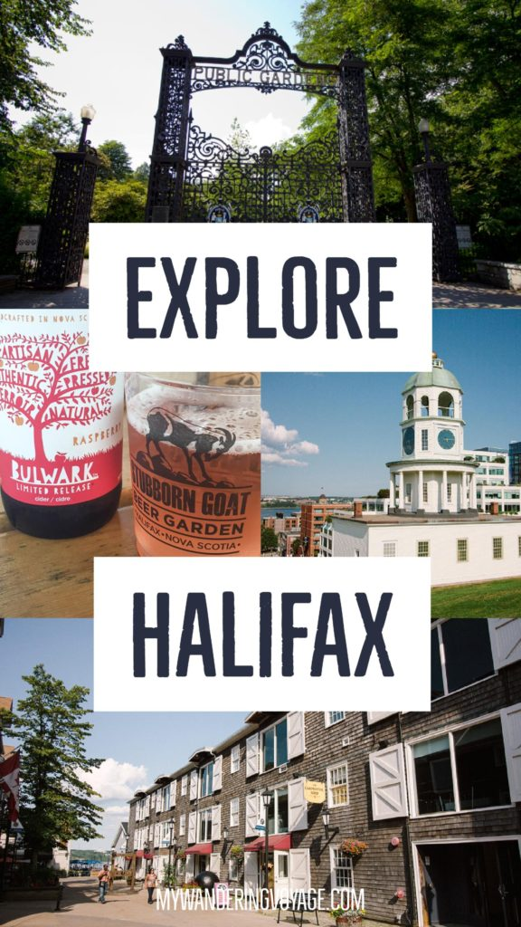 Explore Halifax in a day: walking tour - From its delicious eats, historic buildings and magnificent waterfront, there is much to do in Halifax, Canada. Bring your walking shoes and a camera, because you're going to want to capture the beauty of this city on the Atlantic Ocean   My Wandering Voyage travel blog