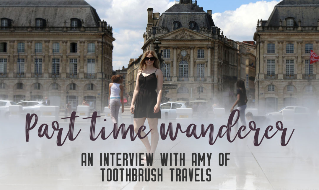 Part-time wanderer: Interview with Amy - Share the love of travelling with other part-time travellers in this interview series.   My Wandering Voyage travel blog