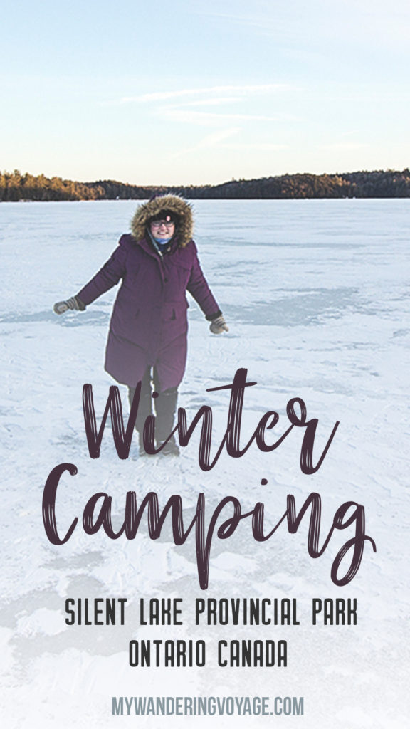 Winter doesn't have to be about staying inside to escape the cold! Embrace it by winter camping in one of Ontario's provincial parks. Silent Lake Provincial Park in Ontario, Canada offers yurts during the winter, for come cold-weather fun.   My Wandering Voyage travel blog
