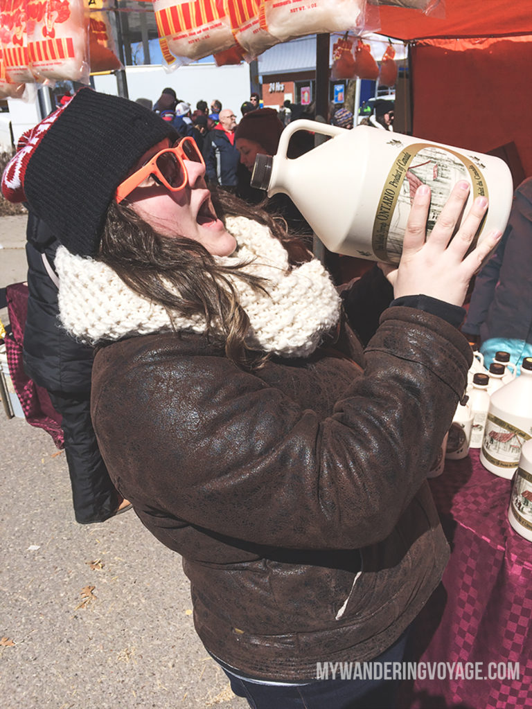 The Elmira Maple Syrup Festival is a sure sign of spring in southwestern Ontario, Canada. It's the largest one day maple syrup festival in the world. Come, taste and enjoy! | My Wandering Voyage
