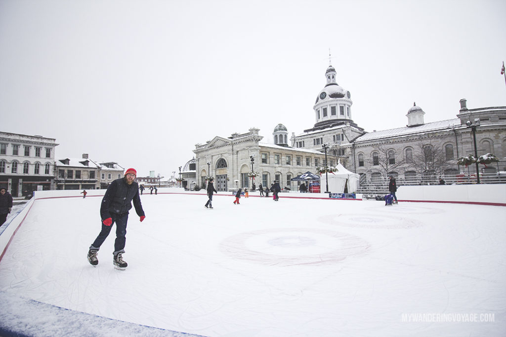 Enjoy a winter weekend in Kingston, Ontario, Canada | Winter is the perfect time to go on a weekend getaway to a nearby city. So pack your bags and head to Kingston to take in its history, food and events like Lumina Borealis all winter long.| My Wandering Voyage