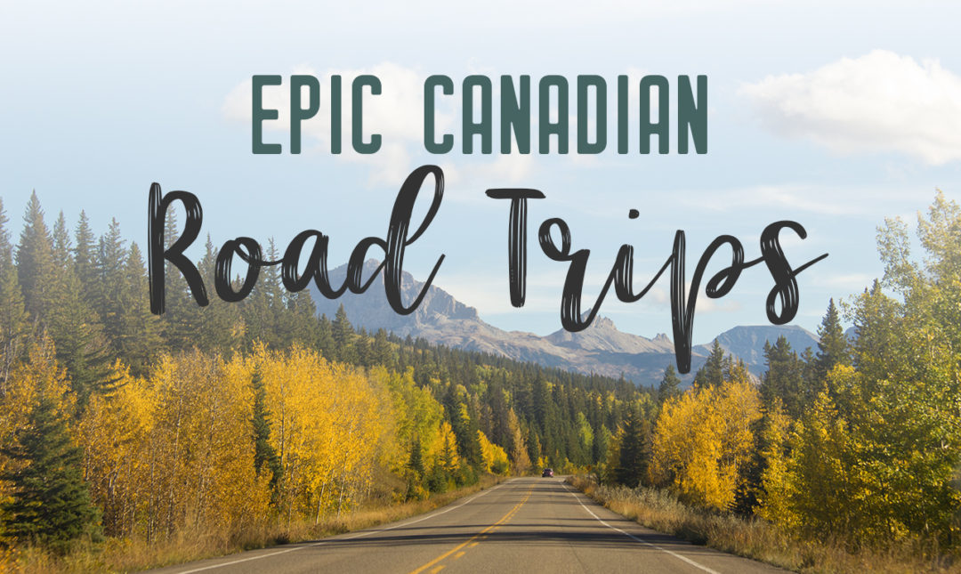 Epic road trips in Canada you need to take | There's no better way to explore Canada than by car. Take one of these epic road trips in Canada. Drive scenic routes and find the best stops along the way | My Wandering Voyage travel blog