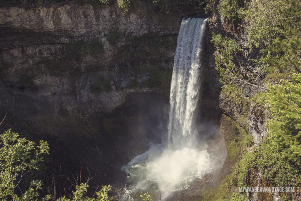 Brandywine Falls | Get out and explore Beautiful British Columbia. From the coastal rainforests to the summit of mountains to cities like Vancouver and Victoria, there is so much to discover in British Columbia. Here's everything you need to see in 10 days in British Columbia | My Wandering Voyage travel blog