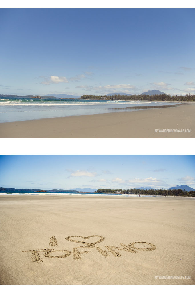 Tofino beaches | Explore the mighty and wild Tofino, British Columbia. This western coastal town on Vancouver Island is perfect for every adventurer. Try surfing or eat your way through town. #tofino #britishcolumbia #ExploreBC #exploreCanada