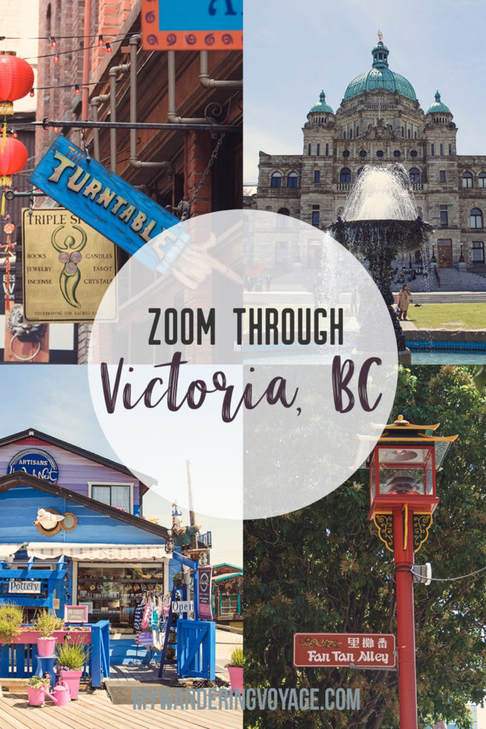 Victoria, BC, located on Vancouver Island, is a regal city ready for exploring. So whether you stay for a day or a week, there's always something charming to do in Victoria, BC. #VictoriaBC #BritishColumbia #Canada #exploreCanada #exploreBC