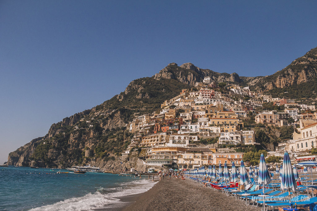Positano | You've got 10 days to explore Italy, so where do you start? This 10 day Italy itinerary will take you from Rome to Venice to Florence to Tuscany. Explore Italy in 10 days | My Wandering Voyage #travel blog #Italy #Rome #Venice #itinerary