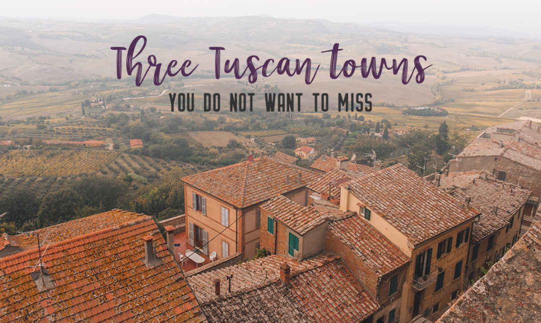 Find the best Tuscan villages to visit from Rome in a day. Tuscany is known for its rolling hills, its vibrant cultural cities, its picturesque hilltop towns, and for the food and wine that people flock here for. | My Wandering Voyage #travel blog #Tuscany #Italy #Europe