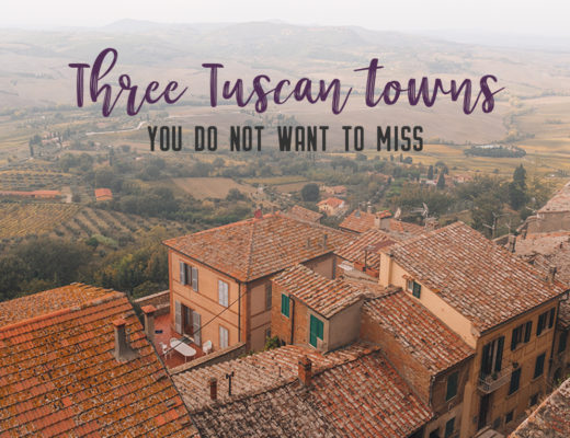 Find the best Tuscan villages to visit from Rome in a day. Tuscany is known for its rolling hills, its vibrant cultural cities, its picturesque hilltop towns, and for the food and wine that people flock here for.   My Wandering Voyage #travel blog #Tuscany #Italy #Europe