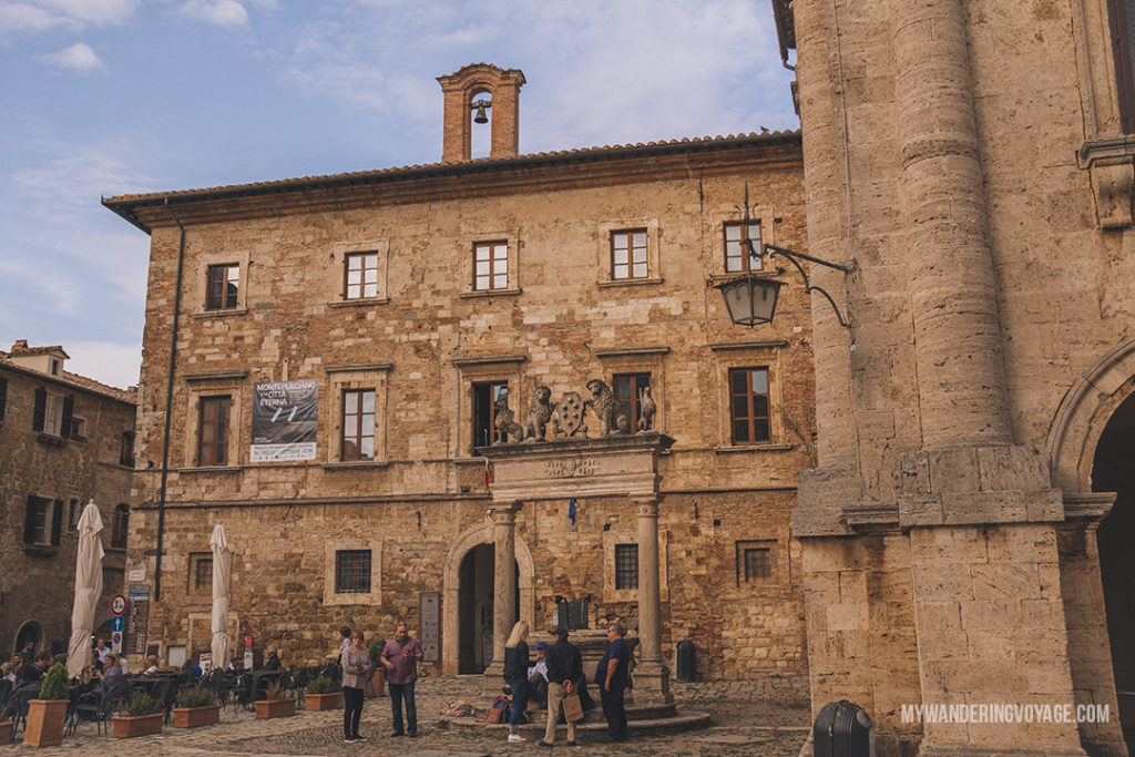 Montepulchiano | Find the best Tuscan villages to visit from Rome in a day. Tuscany is known for its rolling hills, its vibrant cultural cities, its picturesque hilltop towns, and for the food and wine that people flock here for. | My Wandering Voyage #travel blog #Tuscany #Italy #Europe
