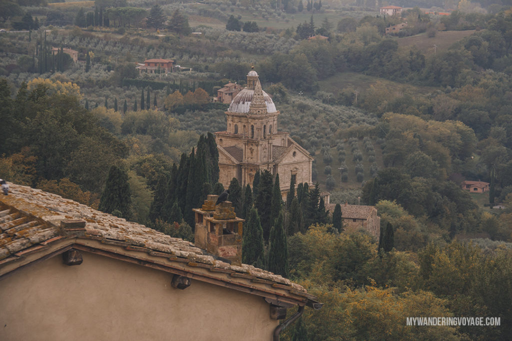Montepulciano | Find the best Tuscan villages to visit from Rome in a day. Tuscany is known for its rolling hills, its vibrant cultural cities, its picturesque hilltop towns, and for the food and wine that people flock here for. | My Wandering Voyage #travel blog #Tuscany #Italy #Europe