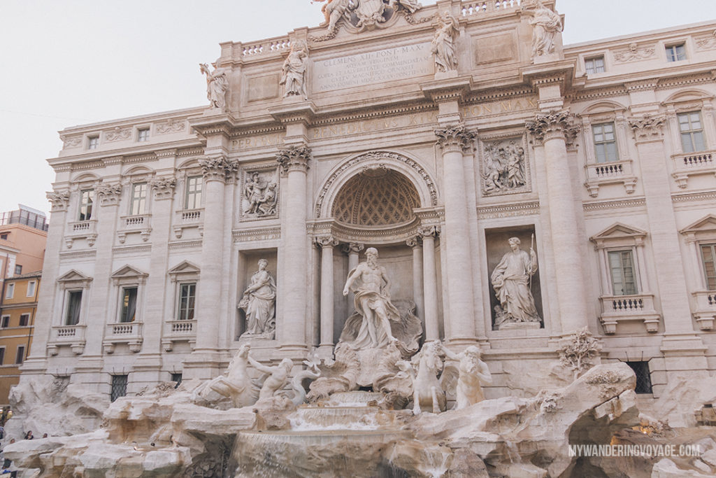 Visit Rome, Italy – the eternal city – and visit some of the most beautiful and historical sites in just three days. Here are the things to do in Rome in 3 days. | My Wandering Voyage travel blog #rome #italy #travel