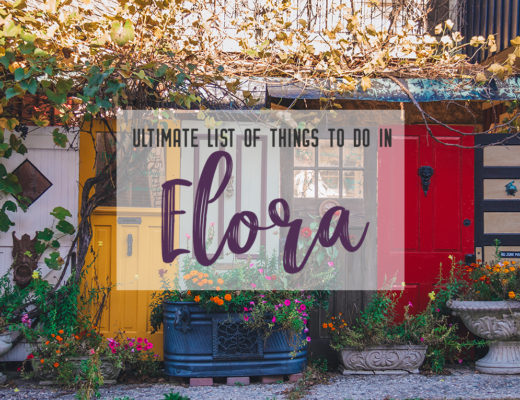 The ultimate list of things to do in Elora, Ontario. Visit Elora for its small town charm, natural beauty and one-of-a-kind shops and restaurants | My Wandering Voyage travel blog