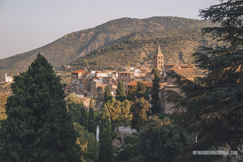 Tivoli, Italy | Visit UNESCO World Heritage Sites Villa Adriana and Villa d'Este in a day trip to Tivoli, Italy, a mountainside town about 30 kilometres from Rome. | My Wandering Voyage travel blog #rome #italy #travel #UNESCO