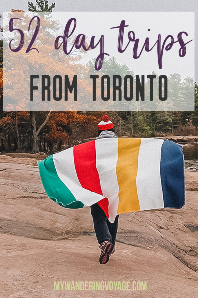 Are you an explorer? A foodie? Or how about a beach bum? There's something for everyone in this list of fantastic day trips from Toronto, Canada | My Wandering Voyage travel blog #toronto #ontario #canada #ontariotravel #travel