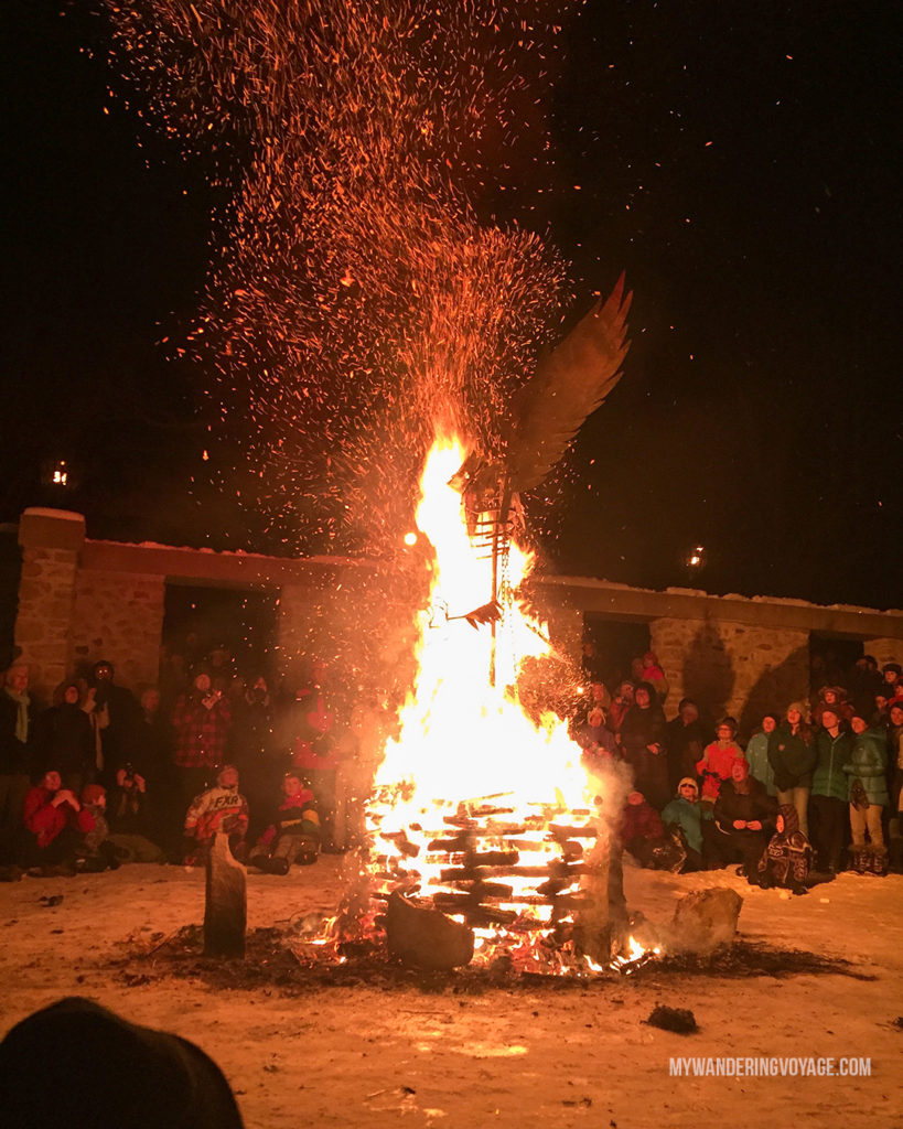 Alton Mill Fire and Ice Festival | Are you an explorer? A foodie? Or how about a beach bum? There's something for everyone in this list of fantastic day trips from Toronto | My Wandering Voyage travel blog #toronto #ontario #canada #ontariotravel #travel