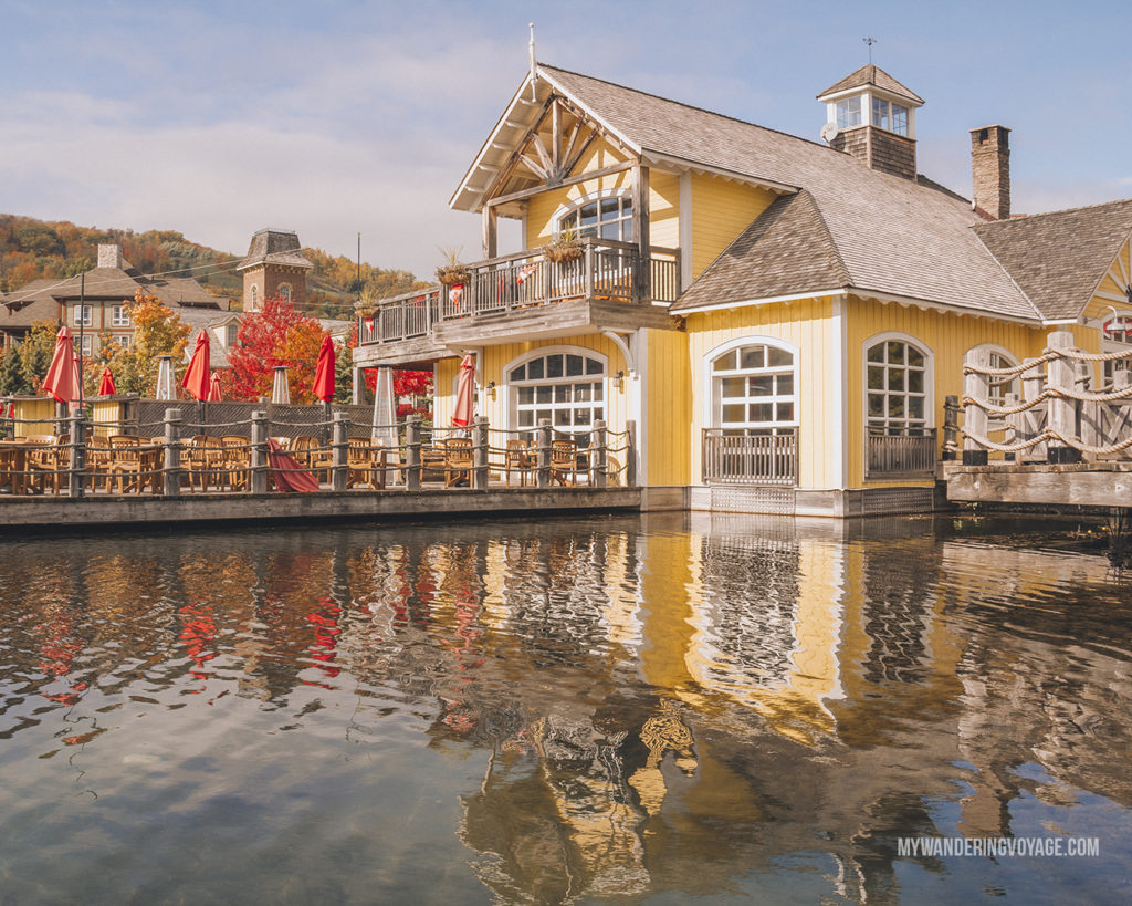 Blue Mountain Village | Are you an explorer? A foodie? Or how about a beach bum? There's something for everyone in this list of fantastic day trips from Toronto | My Wandering Voyage travel blog #toronto #ontario #canada #ontariotravel #travel