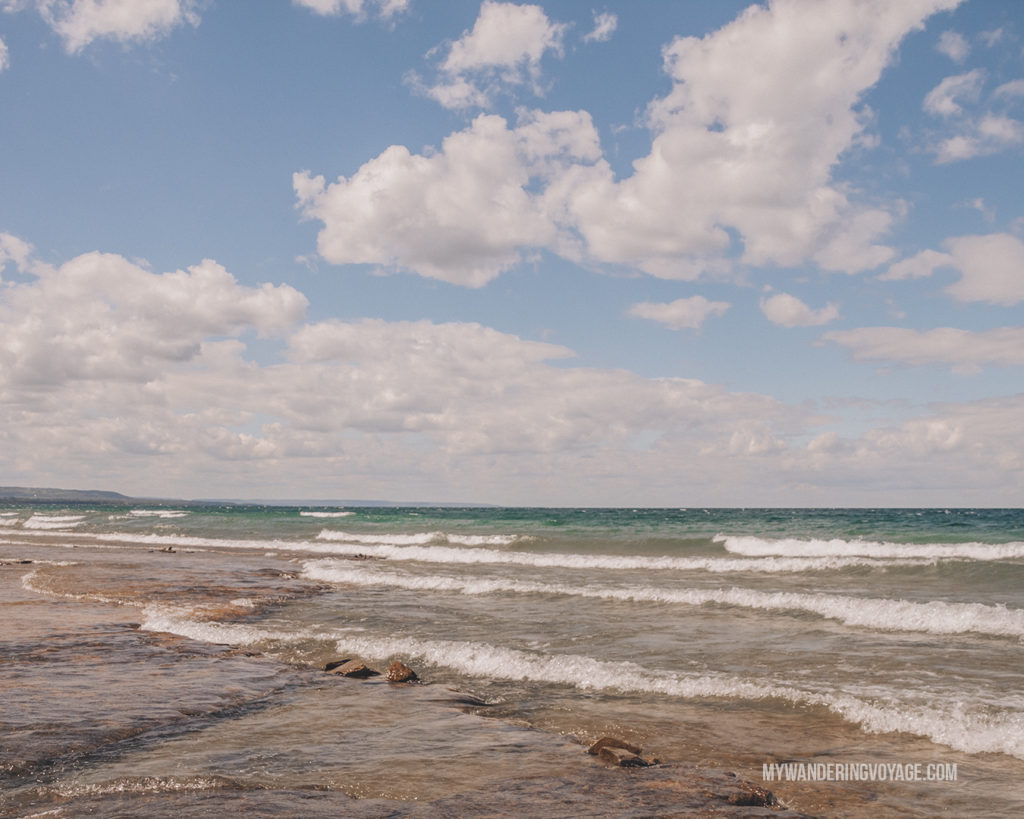 Craigleith Provincial Park | Are you an explorer? A foodie? Or how about a beach bum? There's something for everyone in this list of fantastic day trips from Toronto | My Wandering Voyage travel blog #toronto #ontario #canada #ontariotravel #travel