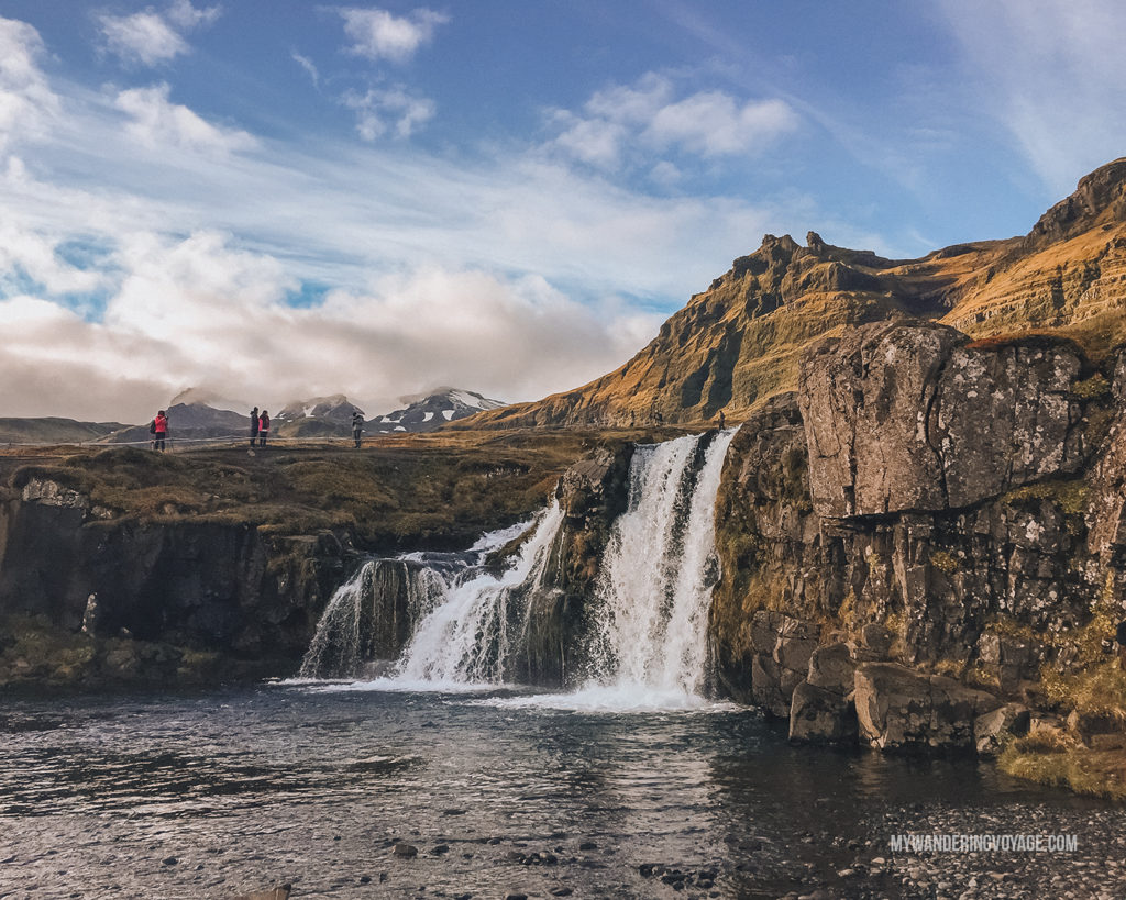 Iceland waterfall | With the powerful device in your pocket you can take incredible photos of your travels. Here is the ultimate guide to smartphone travel photography. | My Wandering Voyage travel blog #travel #photography #tips #travelphotography #smartphonephotography