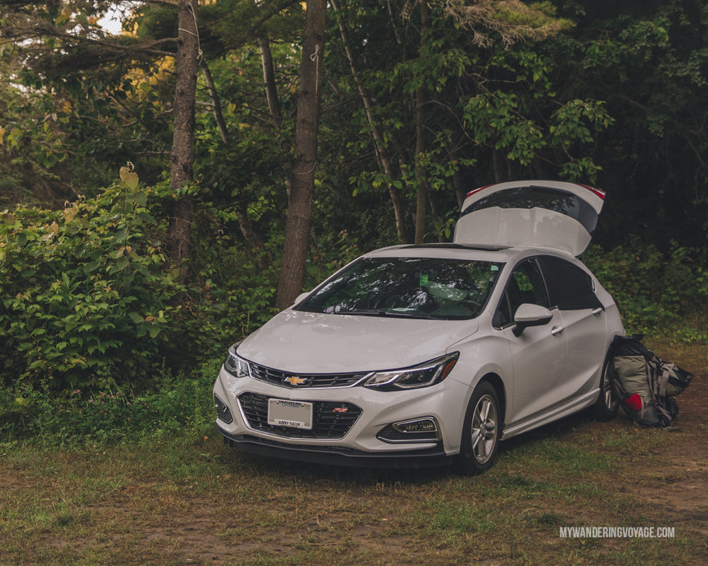 Car Camping Ontario | When road trip season hits, don't be caught unprepared. Make sure you have everything you need with this road trip packing list for a successful and enjoyable trip | My Wandering Voyage travel blog #travel #roadtrip #packing #USA #Canada