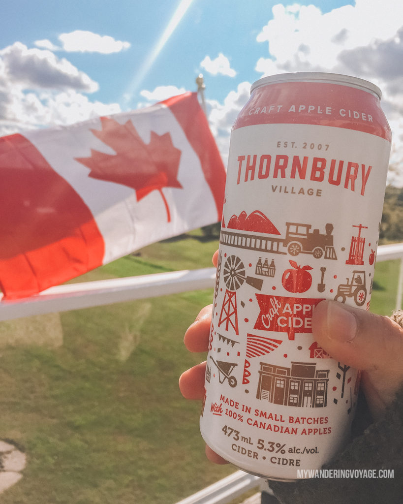 Thornbury Village cider | Are you an explorer? A foodie? Or how about a beach bum? There's something for everyone in this list of fantastic day trips from Toronto | My Wandering Voyage travel blog #toronto #ontario #canada #ontariotravel #travel