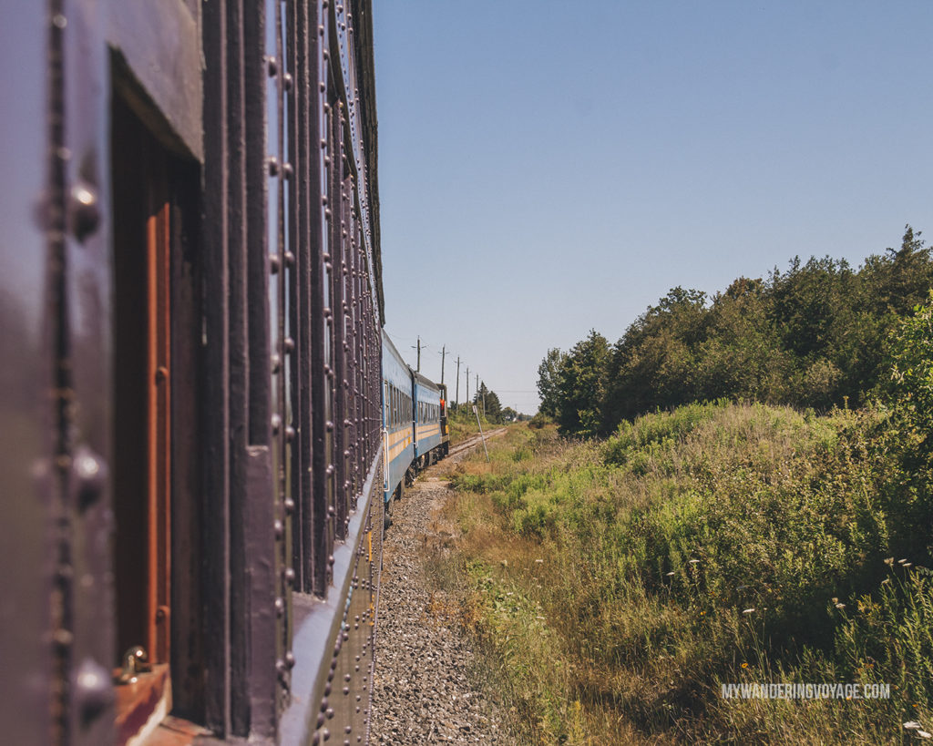 Waterloo Heritage rail way | Are you an explorer? A foodie? Or how about a beach bum? There's something for everyone in this list of fantastic day trips from Toronto | My Wandering Voyage travel blog #toronto #ontario #canada #ontariotravel #travel