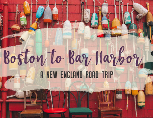 This New England road trip itinerary will take you on the scenic route from Boston to Portland, Mid Coast Maine and Acadia National Park. | My Wandering Voyage #Boston #Portland #Maine #travel