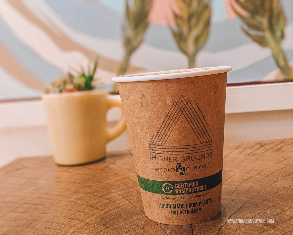 Higher Grounds Coffee, Portland   This New England road trip itinerary will take you on the scenic route from Boston to Portland, Mid Coast Maine and Acadia National Park.   My Wandering Voyage  #Boston #Portland #Maine #travel