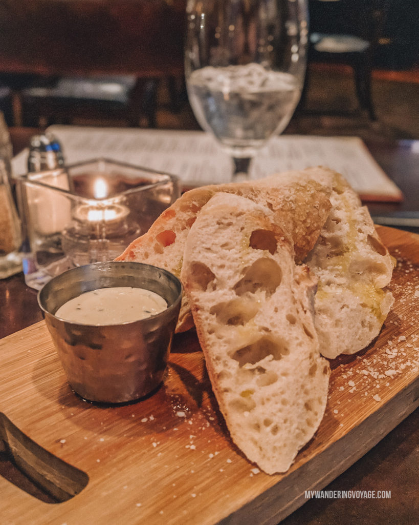 BlueFin homemade bread | Grab your best gal pals or significant other for the ultimate weekend getaway in Portland, Maine. Find where to stay, what to eat and things to do in this guide to Portland, Maine. | My Wandering Voyage travel blog #Portland #Maine #USA #travel