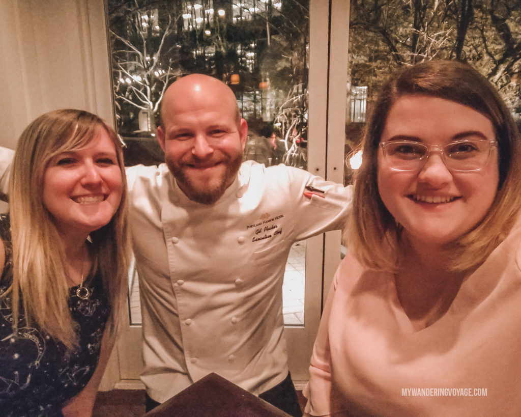 BlueFin chef Gil Plaster | Grab your best gal pals or significant other for the ultimate weekend getaway in Portland, Maine. Find where to stay, what to eat and things to do in this guide to Portland, Maine. | My Wandering Voyage travel blog #Portland #Maine #USA #travel