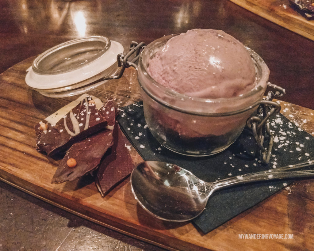 BlueFin wild blueberry ice cream | Grab your best gal pals or significant other for the ultimate weekend getaway in Portland, Maine. Find where to stay, what to eat and things to do in this guide to Portland, Maine. | My Wandering Voyage travel blog #Portland #Maine #USA #travel