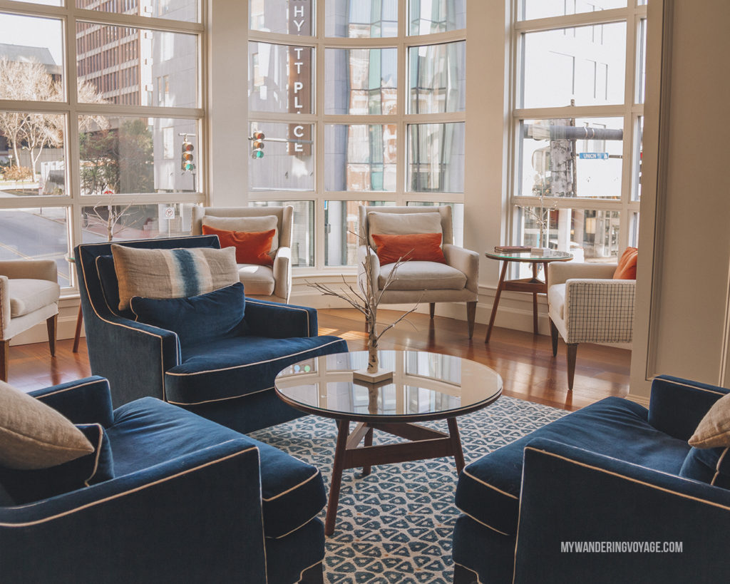 Portland Harbor Hotel | Grab your best gal pals or significant other for the ultimate weekend getaway in Portland, Maine. Find where to stay, what to eat and things to do in this guide to Portland, Maine. | My Wandering Voyage travel blog #Portland #Maine #USA #travel