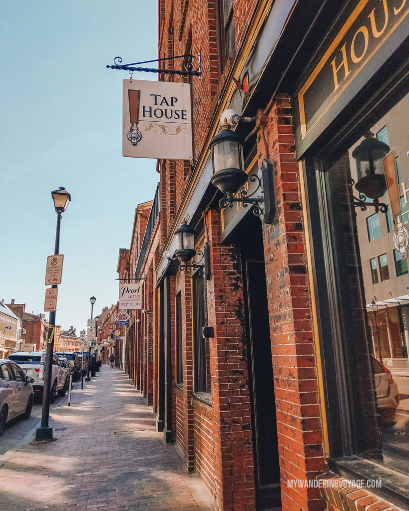 Portland Old Port | Grab your best gal pals or significant other for the ultimate weekend getaway in Portland, Maine. Find where to stay, what to eat and things to do in this guide to Portland, Maine. | My Wandering Voyage travel blog #Portland #Maine #USA #travel