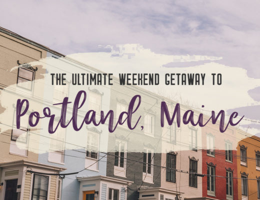 Grab your best gal pals or significant other for the ultimate weekend getaway in Portland, Maine. Find where to stay, what to eat and things to do in this guide to Portland, Maine.   My Wandering Voyage travel blog #Portland #Maine #USA #travel