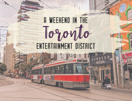 Toronto is the cultural hub of Canada. Enjoy the city life and discover urban treasures by spending the weekend in the Toronto Entertainment District. | My Wandering Voyage travel blog #toronto #ontario #canada #travel #weekendgetaway