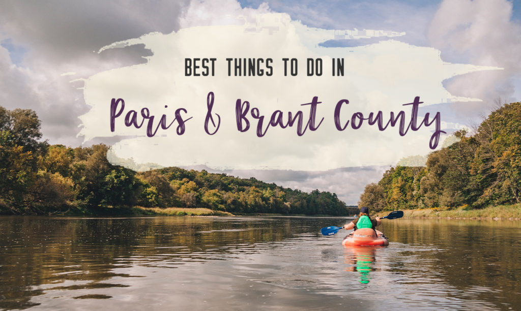 Paddle the Grand River – The best things to do in Paris, Ontario and Brant County