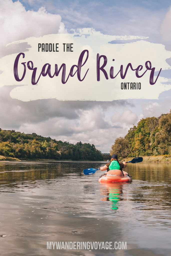 Enjoy a peaceful paddle down the Grand River, then explore the best things to do in Paris, Ontario, Canada and area with this ultimate guide to Brant County and the Brant Blue Canoe Experience. #GoodTimesInBrant #BrantCounty #ParisOntario #Ontario #Travel | My Wandering Voyage Travel Blog