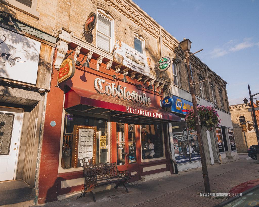 The Cobblestone Pub, Paris, Ontario